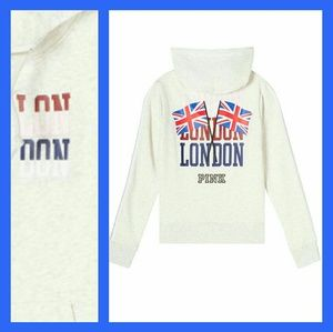 Nwt london edition XS PINK full zip